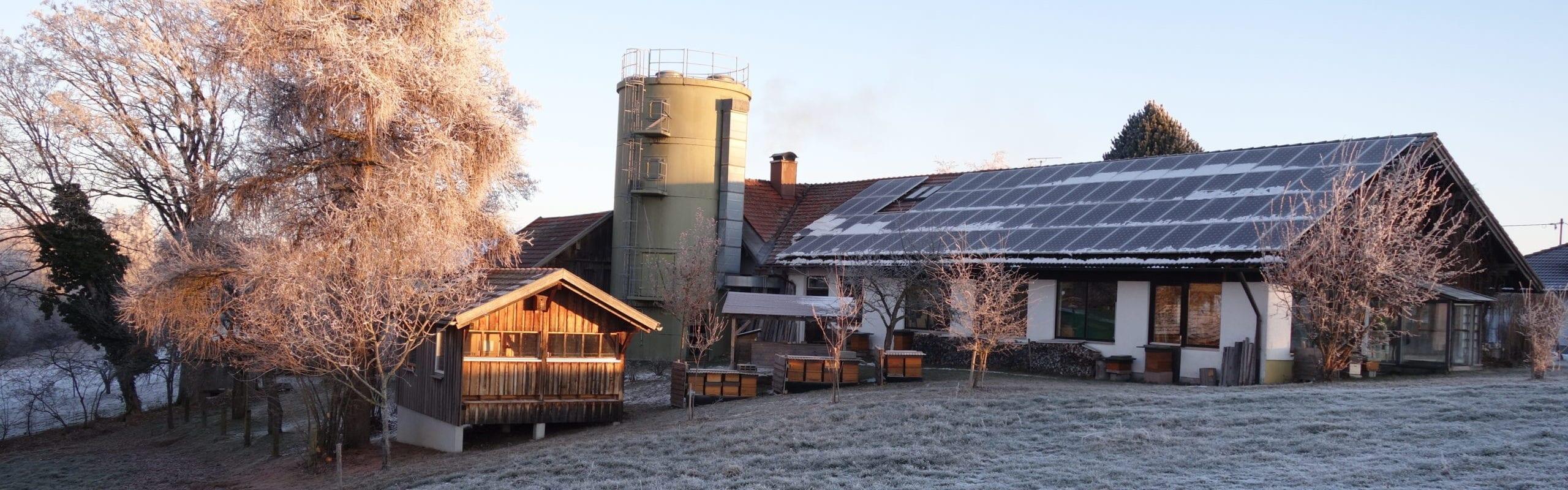 Imkereibedarf Altthaler - unser Betrieb im Herbst