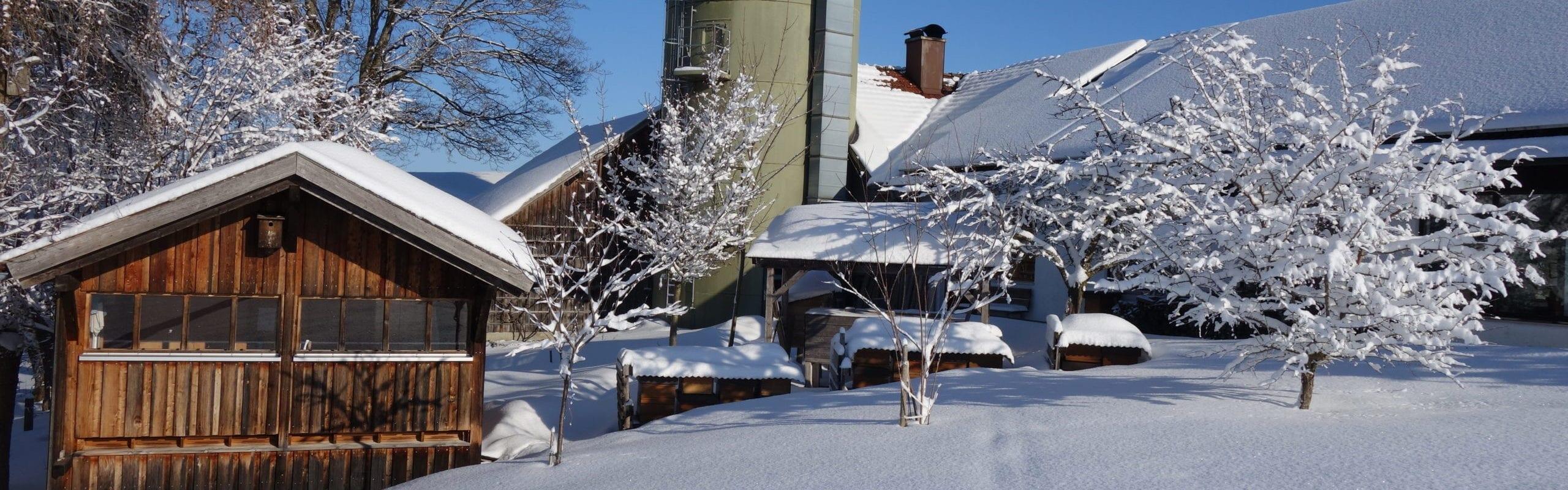 Imkereibedarf Altthaler - unser Betrieb im Winter