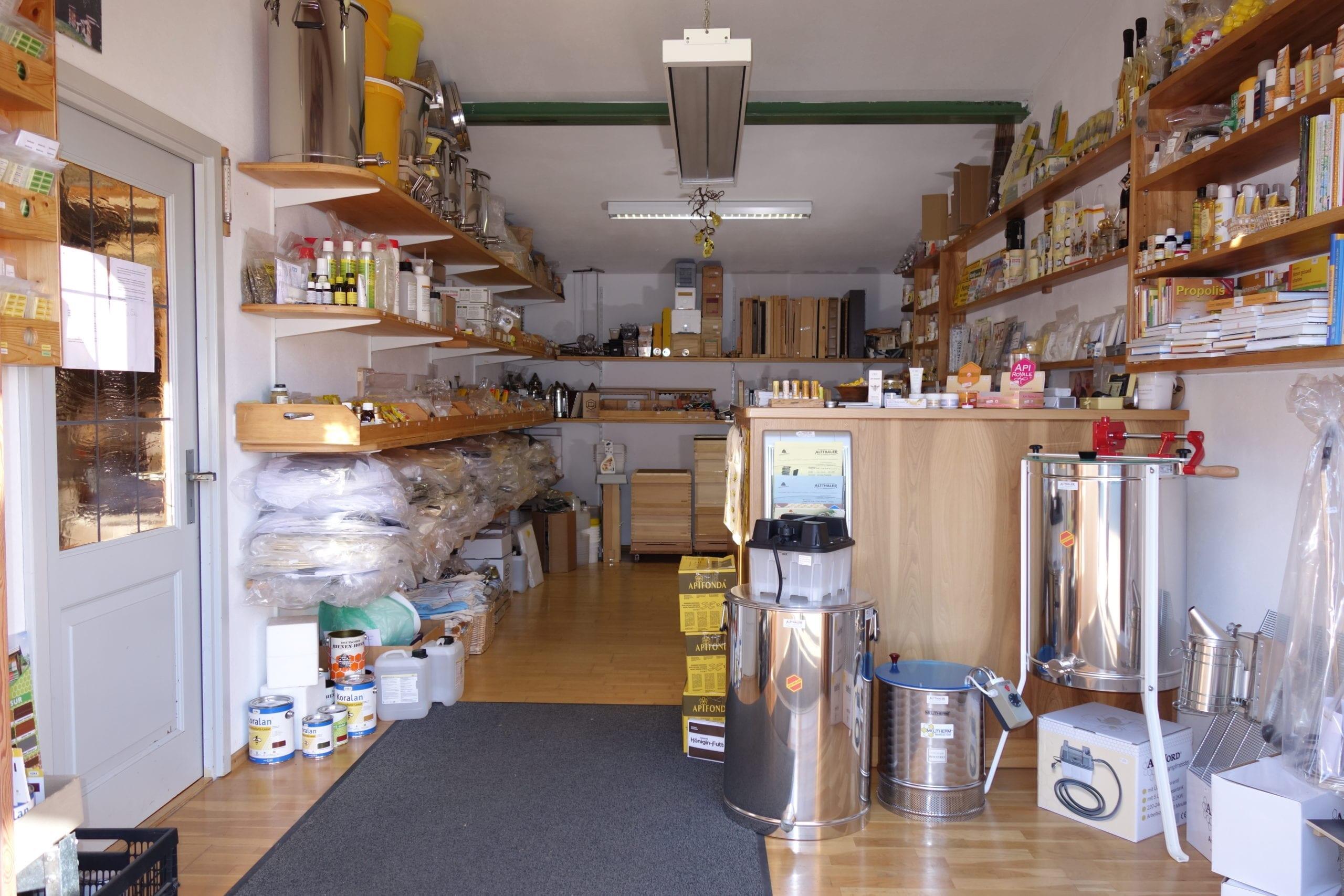 Ein Blick in unseren Laden