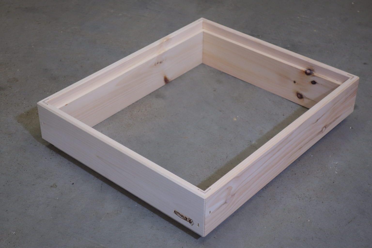 Holzrahmen für Herold Futteraufsatz