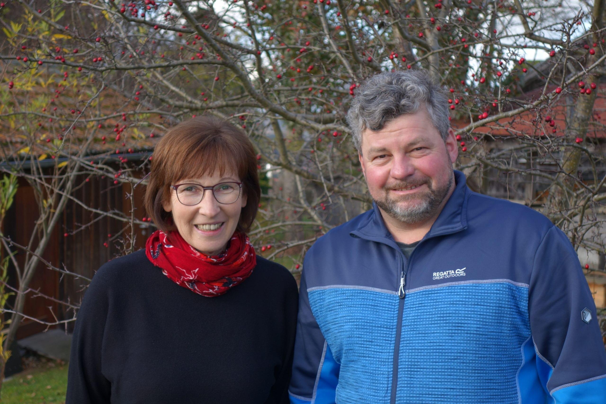Über uns zwei - Christian und Regina Altthaler